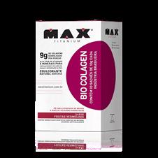 Bio Colagen (Colageno Hidrolisado) Sache - Max Titanium
