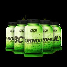 Combo Massa Muscular Definição Máxima - GO NUTRITION