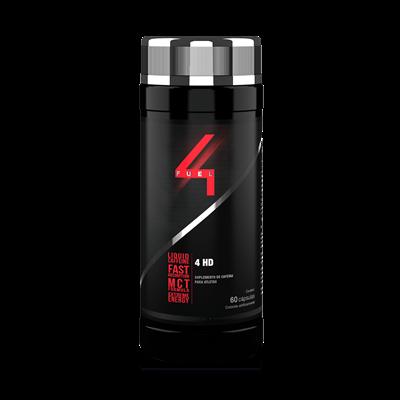 4 HD (Cafeína + Óleo de Cártamo) - 4 Fuel