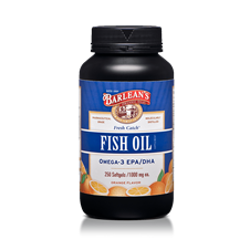 Fish Oil (1000mg) - Barlean's
