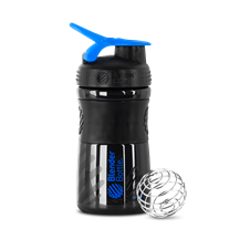 SportMixer 590ml (Preta) - Blender Bottle