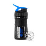 SportMixer 590ml (Preta) - Blender Bottle