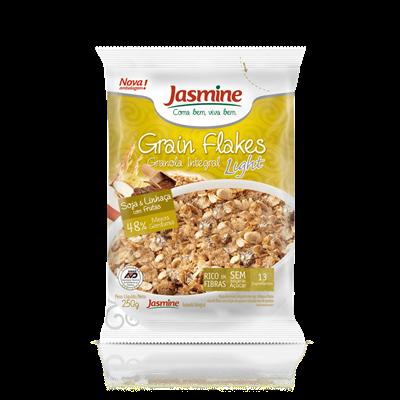 Grain Flakes Ligth Soja & Linhaça - Jasmine
