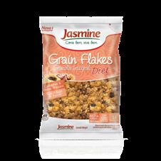 Grain Flakes Diet Castanhas, Chia e Frutas Tropicais - Jasmine