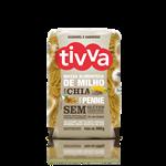 Macarrão Penne de Milho com Chia - Tivva