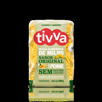 Macarrão Penne de Milho - Tivva