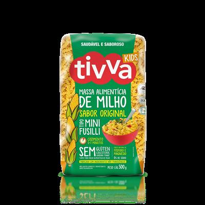 Macarrão Mini Fusilli de Milho (Original) - Tivva
