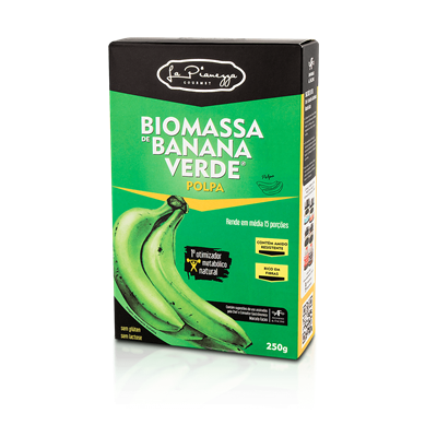 Biomassa de Banana Verde Polpa - La Pionezza