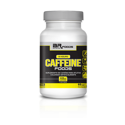 8 Hours Caffeine (Time Realese) - BR Foods