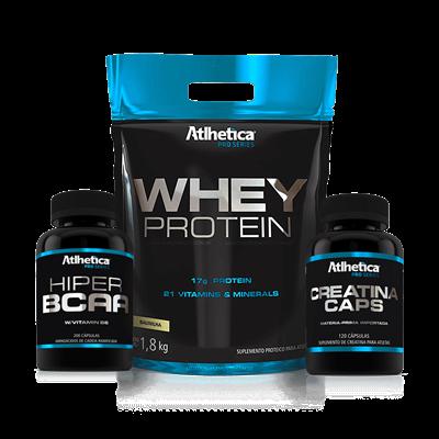 Combo Massa Muscular - Atlhetica Pro Series