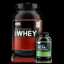 Combo Whey Gold + BCAA 1000 - Optimum Nutrition