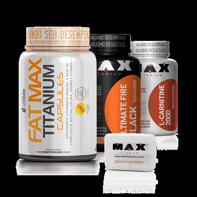 Combo Queima de Gordura - Max Titanium