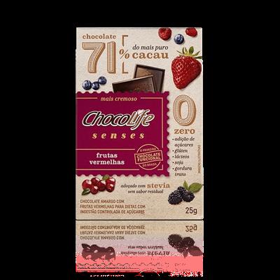 Chocolate Senses (Frutas Vermelhas) - ChocoLife