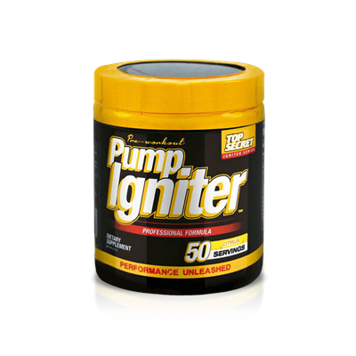 Pump Igniter - Top Secret Nutrition
