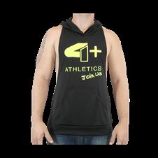 Camiseta Regata c/ Capuz Preta - 4+ Athletics