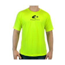 Camiseta Join Us Amarelo Neon - 4+ Athletics