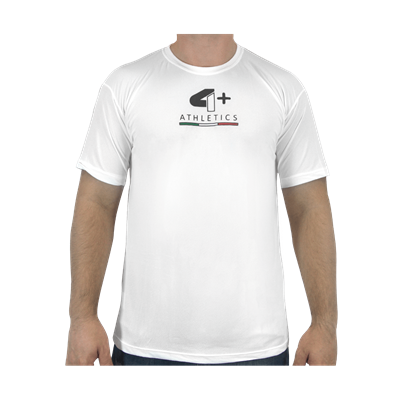 Camiseta Number One Branca - 4+ Athletics