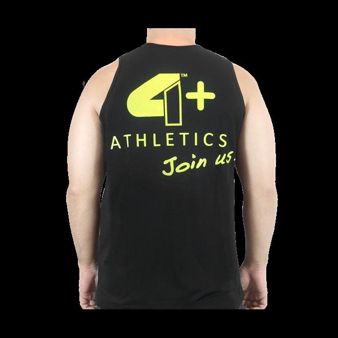 Camiseta Regata Join Us Preta 4+ Athletics - Loja do Suplemento 5f9b6e1be0a
