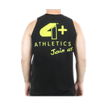 Camiseta Regata Join Us Preta - 4+ Athletics