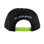 Boné - 4+ Athletics - Preto/Amarelo