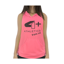 Camiseta Regata c/ Capuz Rosa - 4+ Athletics
