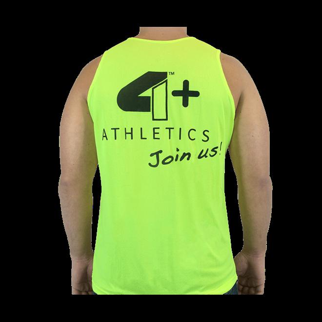 Camiseta Regata Join Us Amarela 4+ Athletics - Loja do Suplemento df08f090982