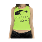 Camiseta Regata Join Us Neon - 4+ Atlhetics