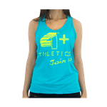 Camiseta Regata Feminina Azul - 4+ Athletics
