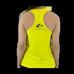 Camiseta Regata Feminina Amarela - 4+ Athletics