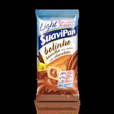 Bolinho de Baunilha c/ Recheio de Chocolate - Suavipan