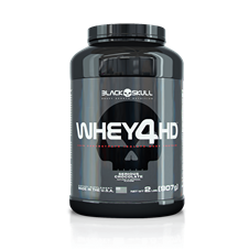 Whey 4HD - Black Skull