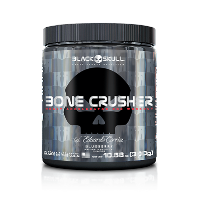 Bone Crusher - Black Skull