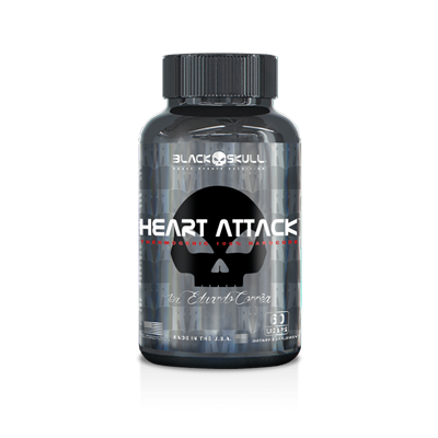 Heart Attack - Black Skull