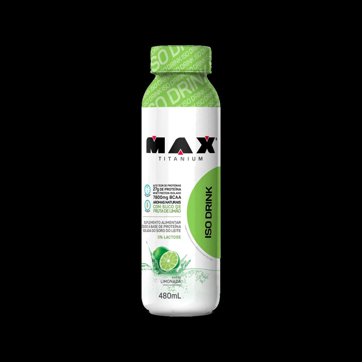 2d98085cf Iso Drink (480ml) Max Titanium - Loja do Suplemento