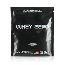 Whey Zero (Dose Única) Chocolate - Black Skull