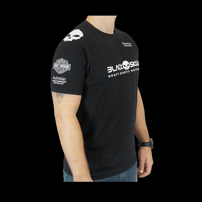 Camiseta Eduardo Corrêa Black Skull - Loja do Suplemento c355803df70