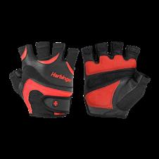 Luvas de Musculação FlexFit - Vermelha c/ Preto - Harbinger