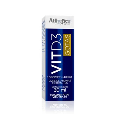 Vitamina D3 - Atlhetica Clinical Series