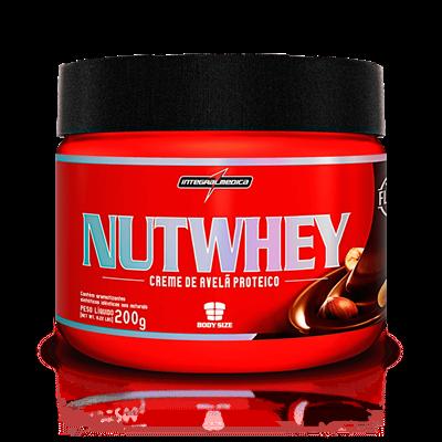 NutWhey Cream (Creme de Avelã Protéico) - Integralmédica