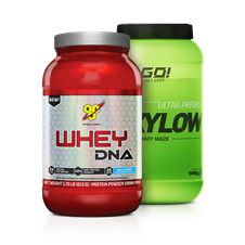 Combo Whey DNA + Waxy Maize - Multimarcas
