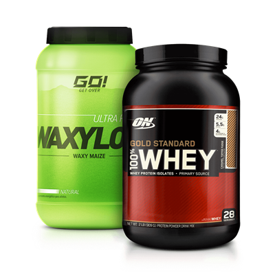 Combo Whey Gold 100% + Waxy Maize - Multimarcas