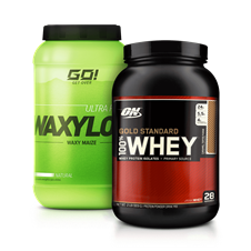 Combo 100% Whey Gold + Waxy Maize - Multimarcas