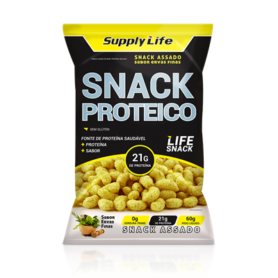 Snack Proteico - Supply Life