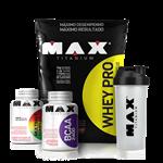 Combo Whey Pro Refil - Max Titanium