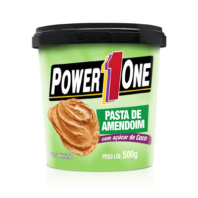 Pasta de Amendoim c/ Açucar de Coco - Power One