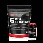 Combo 6 Six Protein (2000g) + Creatina - BodyBuilders