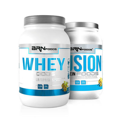 Combo Whey Foods + Fusion Protein - BRN Foods